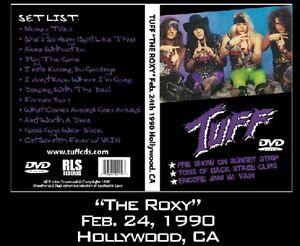 TUFF-The-Roxy-LIVE-DVD-w-VAIN-Glam-Hairbands-80s-Ratt-Bon-Jovi-Poison-Motley