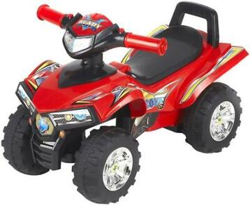 MamaLoes Eco Toys Quad Red Loopauto 551 (Loopautos)