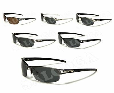 X Loop POLARIZED Sunglasses Sport Driving Running Baseball Golf Half Frame (Loop Sunglasses)