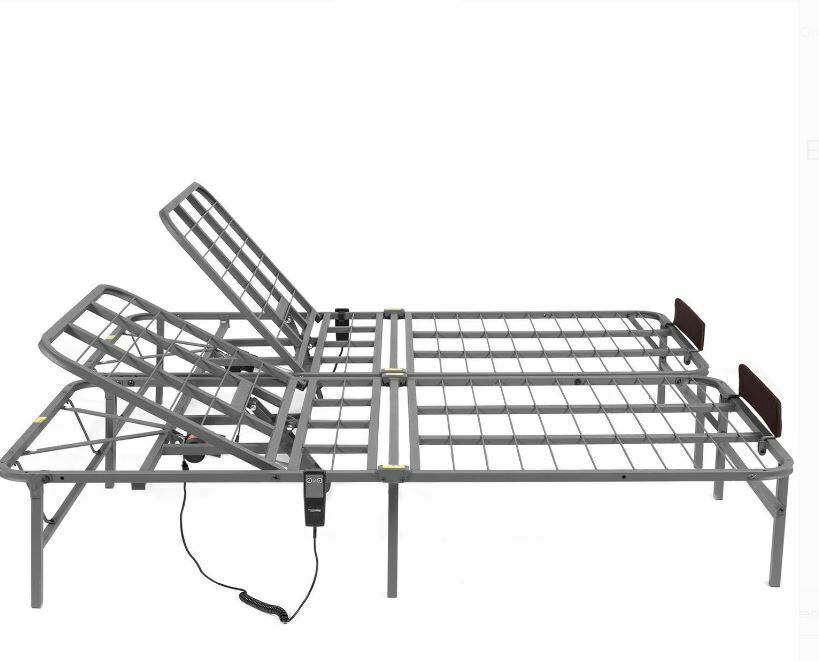 Electric Adjustable Head Lift Bed Frame Full Size Remote Con