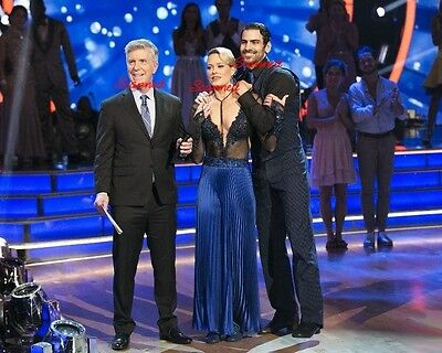 Dancing With The Stars Nyle Dimarco   Peta Murgatroyd  Tom Bergeron Picture 3777
