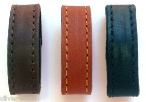 Two-1-2-Wide-Genuine-Leather-Replacement-Belt-Keeper-Loops-8-Colors-5-Sizes