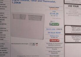 4 x Levante Digital Panel Heaters 1250w