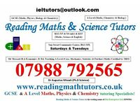 Reading Maths & Science Tutors - Specialists for Maths Science up to and including A Level