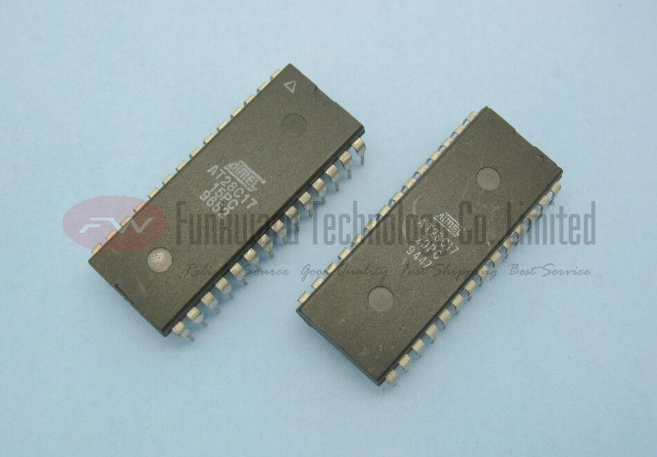 Atmel AT28C17 28C17 16KBIT CMOS EEPROM DIP28  x 10pcs