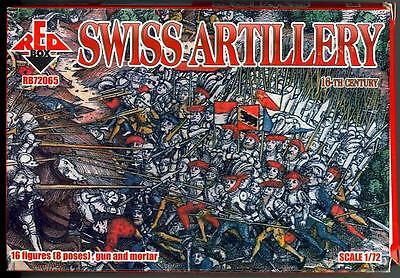 Red Box Swiss artillery 16th century 1:72