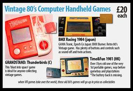 Vintage 80's Computer Handheld Games