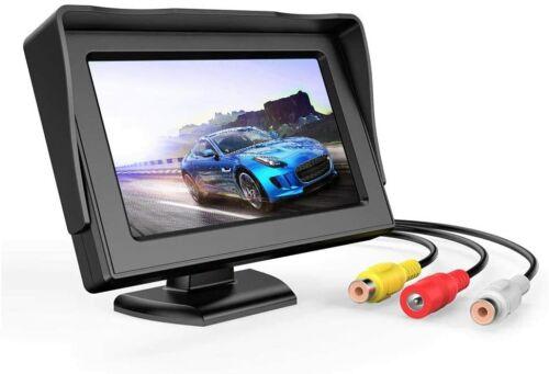 B-Qtech 4.3 inch LCD Display Backup Camera and Monitor Rear View Reverse Camera