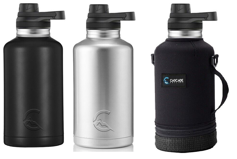 CASCADE TUMBLERS 64OZ HALF GALLON INSULATED STAINLESS STEEL