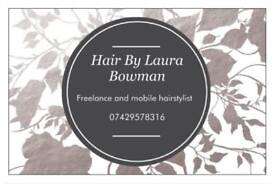 Freelance and mobile hairdresser