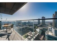 Stunning 3 bed apartment on 25th floor with SPA, GYM, ROOFTOP TERRACE