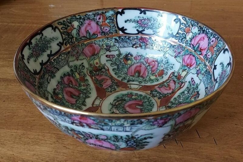 Japanese Porcelain Ware Bowl 6 1/8 inches