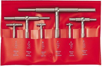 Starrett S579hz Telescoping Gage Set516-6 In6 Pc