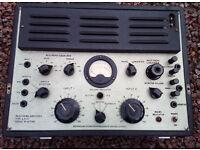 Birmingham Sound Reproducers A.R. 15 Valve Amplifier - Untested - Pair Of EL37