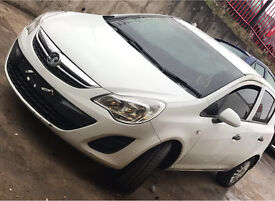 Vauxhall Corsa 2013 1.3 Diesel Breaking 5 door