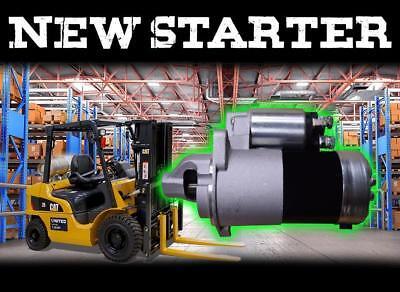 New In Box Forklift Starter Caterpillar Gc15 Gc18 Gc20 Gc25 Gc30 Lift Trucks