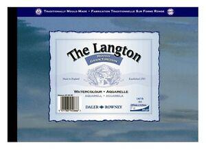 Daler-Rowney-Langton-blocco-ruvido-per-acquerelli-Grana-A4-63-5-kg-12-Fogli