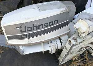 JOHNSON 50HP OUTBOARD 1988 - FOR PARTS OR REPAIR ONLY Forrestdale Armadale Area Preview