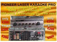 PIONEER LASER KARAOKE AMP