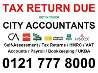 ACCONTANT, SELF ASSESSMENTS, TAX ADVICE, BOOKKEEPING, ANNUAL ACCOUNTS, PAYE, VAT RETURNS, PAYROLL