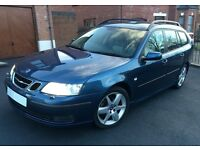 EXCELLENT estate car - Saab 9-3 Vector Sportwagon 2.0T petrol - Ocean Blue Saab 93 not Audi or BMW