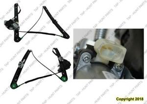 Window Regulator Front Driver Side Power [Sedan 1999-2006] [Wagon 2000-2006] Bm1350111 BMW 3-Series (E46)
