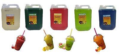 Slush Syrup, Full Pallet (160x5ltr), (1:6 DILUTION),Cost £8.92 PER BOTTLE