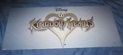 SPIRIT HALLOWEEN Store Exclusive Display Sign DISNEY KINGDOM HEARTS (Video Game)