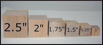 50 Wooden Blocks, DIY Wood Blocks, Wood Cubes, Square Blocks - Diy Wooden Blocks