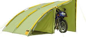 ADAC 2 Personen Bikerzelt Zelt Camping Outdoor Motorrad Garage Motorradfahrer