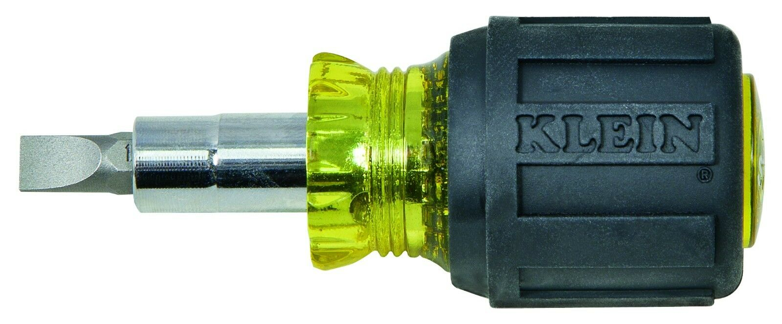 Klein Tools Stubby Multi-Bit Screwdriver/Nut Driver - 3.2 Le