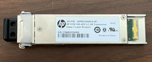 HP JD117B X130 10G XFP LC SR Transceiver - New/Other