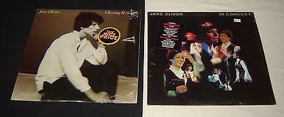 Jane Oliver  2  Columbia Lp Records Chasing Rainbows In Concert Cabaret Pop