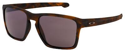 Oakley Sliver XL Sunglasses OO9341-0457 Matte Brown Tortoise | Warm Grey (Matte Brown Sunglasses)