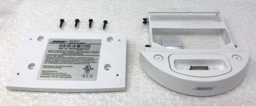 BOSE Sounddock Series I A WHITE 30-Pin Dock Connector Bracket Cradle 282490-001