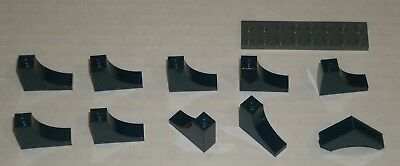 LEGO Light Bluish Gray Brick Arch 1x3x2 Inverted Lot of 50 Parts Pieces 18653