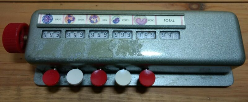 Multiple Counter 3 Digit Tally Counter 5 bank with Total 999 Max per counter