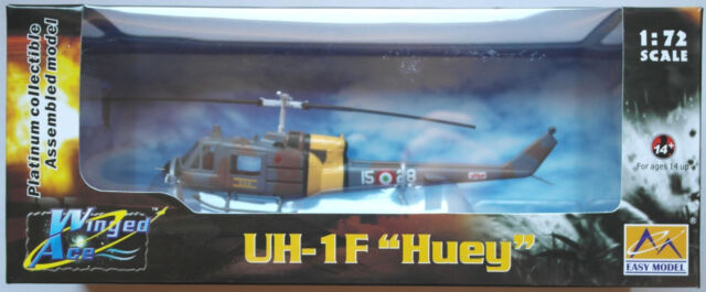 "Easy Model - UH-1F ""Huey"" Helicopter / Hubschrauber US Air Force 1:72 Neu/OVP"