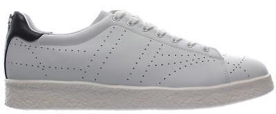 Men's Shoes Sneakers BIKKEMBERGS Best Shoe Leather White LShoe Wht Black