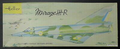 HELLER  1/50 MIRAGE III R  L 511