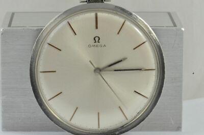 OMEGA Pocket Watch 1 23/32in RAR Hand Wound Vintage Nice Steel 1706 Condition