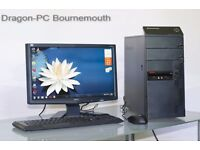 Lenovo -Desktop PC- in excellent condition!3 month Warranty
