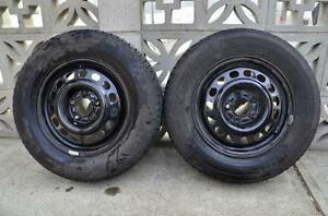 Tires and rims, P205/70R15. Strathcona County Edmonton Area image 1