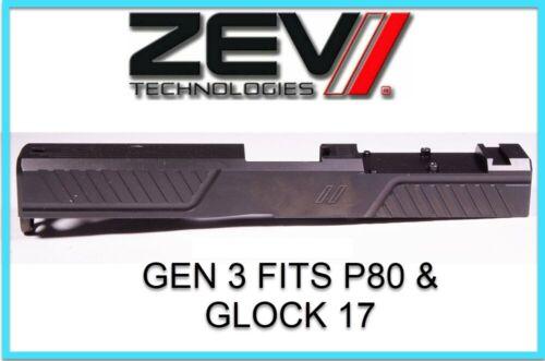 ZEV Z17 Citadel Stripped Slide RMR CUT Gen3 Black GLOCK 17 BLACK Great Cond