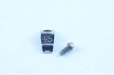 BREITLING CHRONOMAT A13050 REITER STAHL SCHRAUBE RIDER NR. 45 RIDER WITH SCREW