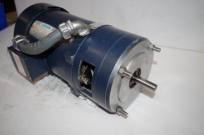 LEESON 3/4HP AC MOTOR & BRAKE # 110047 00 208-230/460VAC 1725RPM