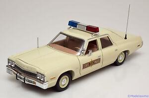 1:18 Ertl/Auto World Dodge Monaco Ilinois State Police 1974
