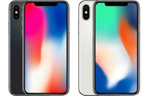 iPhone X 64gb/ 256gb Factory Unlocked AZ Wireless AVAILABLE EAST & WEST END of Ottawa!!