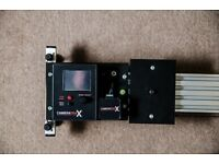 Motorised, Programmable Camera Slider - 1.2m, includes DC and Battery Packs