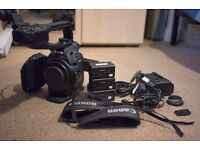 Canon EOS C100 Camera Kit - Great Condition
